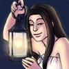 """(plus que deux dessins avec le mot """"lanternes"""" et on aura un puissance 5 dans l'album)  Petit dessin (assez rapide au final) issu de mon carnet de croquis ! Pour le concours lanternes, évidemment."""